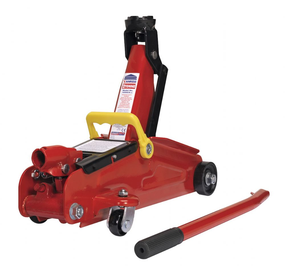 Trolley Jack 2tonne Short Chassis.